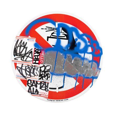Hael Original Art - No Spray II - II - 18 x 18 Inches