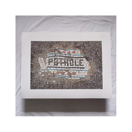bachor Art Print - Pothole - 8 x 10 Inches - Open Edition Prints