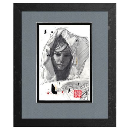 Adam Caldwell Original Art - Audrey Drawing #2