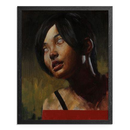 Adam Caldwell Original Art - The Seer - Framed Original Artwork