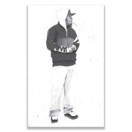 Brett Amory Original Art - Lil Waiter XXIII