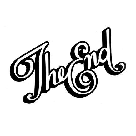 Denial Original Art - The End - Cut-Out