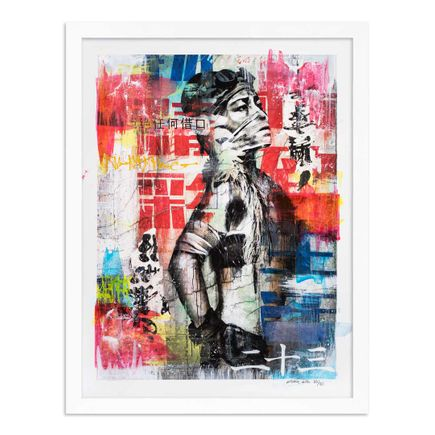 Eddie Colla Art Print - 23 of 40 - Without Excuse - Hand-Embellished Edition