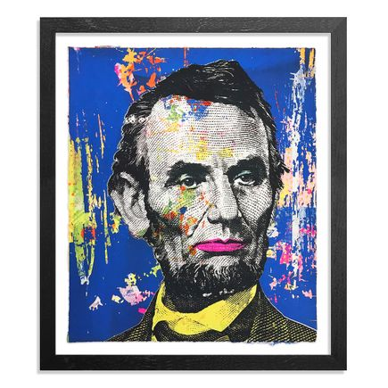 Greg Gossel Art Print - Honest Abe - 23