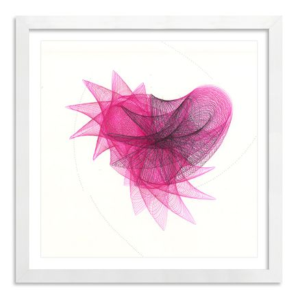 Mary Wagner Original Art - Pink Fairy - Original Artwork