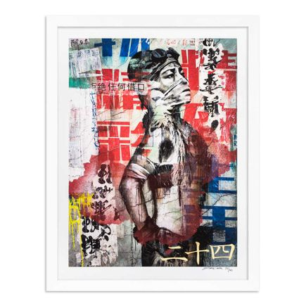 Eddie Colla Art Print - 24 of 40 - Without Excuse - Hand-Embellished Edition