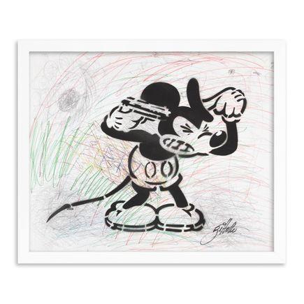 Jeff Gillette Original Art - 21 - Mickey Suicide - Part II - Hand-Painted Multiples
