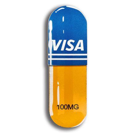 Denial Art - Visa - Mini Pill