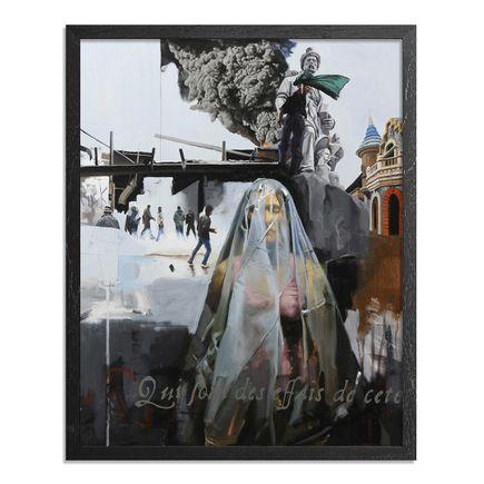 Adam Caldwell Original Art - The World As It Is In Itself - Framed Original Artwork