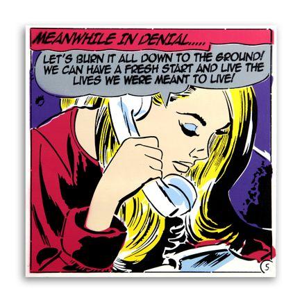 Denial Original Art - Long Distance Reality - 24 x 24 Inch