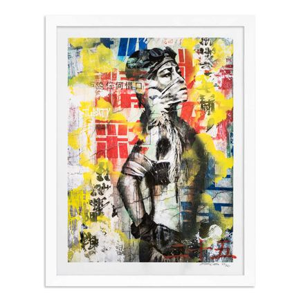 Eddie Colla Art Print - 25 of 40 - Without Excuse - Hand-Embellished Edition