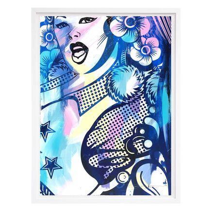 ASVP Art Print - Cheerleader (Close Up) - Multicolor Edition