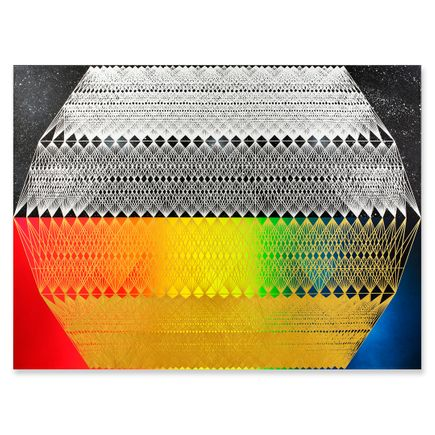 Jose Di Gregorio Original Art - Cosmo Tracer 02 - Original Artwork
