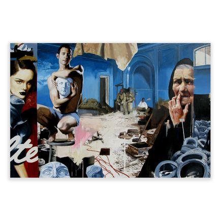 Adam Caldwell Original Art - Bosnia - Original Artwork