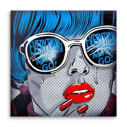 Denial Original Art - One Day Sale - 24 x 24 Inch Edition
