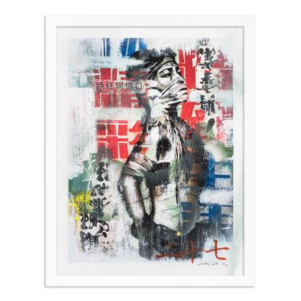 Eddie Colla Art Print - 27 of 40 - Without Excuse - Hand-Embellished Edition