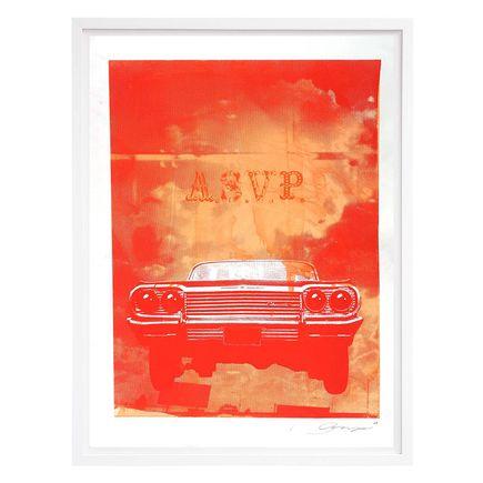 ASVP Art Print - Car - Red & Orange Edition