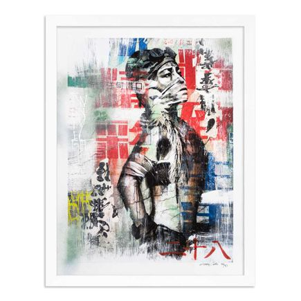 Eddie Colla Art Print - 28 of 40 - Without Excuse - Hand-Embellished Edition