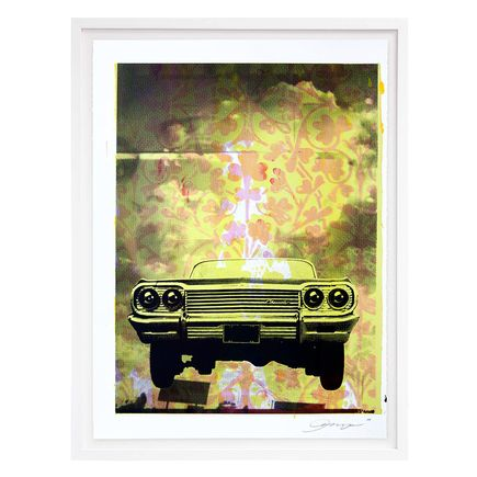 ASVP Art Print - Car - Pink & Yellow Edition