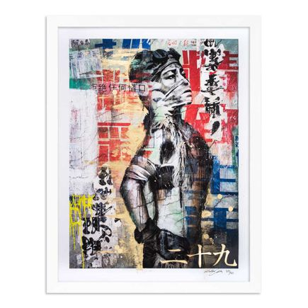 Eddie Colla Art Print - 29 of 40 - Without Excuse - Hand-Embellished Edition