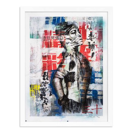Eddie Colla Art Print - 30 of 40 - Without Excuse - Hand-Embellished Edition