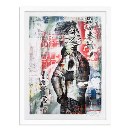 Eddie Colla Art Print - 32 of 40 - Without Excuse - Hand-Embellished Edition