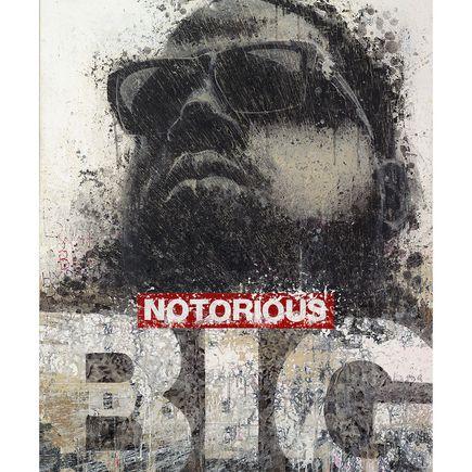 Bask Original Art - Notorious B.I.G