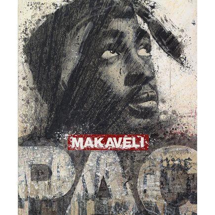Bask Original Art - Tupac