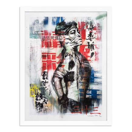 Eddie Colla Art Print - 33 of 40 - Without Excuse - Hand-Embellished Edition