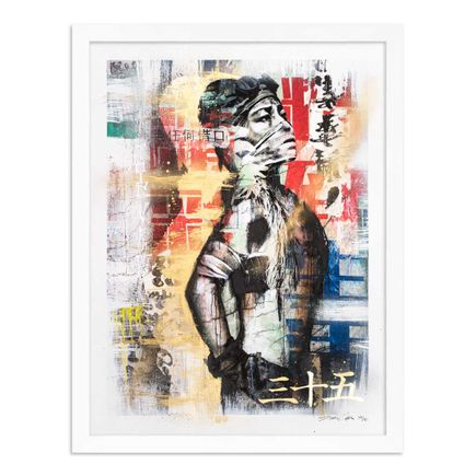 Eddie Colla Art Print - 35 of 40 - Without Excuse - Hand-Embellished Edition