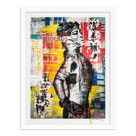 Eddie Colla Art Print - 37 of 40 - Without Excuse - Hand-Embellished Edition