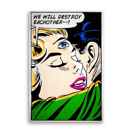 Denial Original Art - We Will Destroy Each Other
