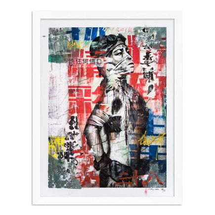 Eddie Colla Art Print - 38 of 40 - Without Excuse - Hand-Embellished Edition