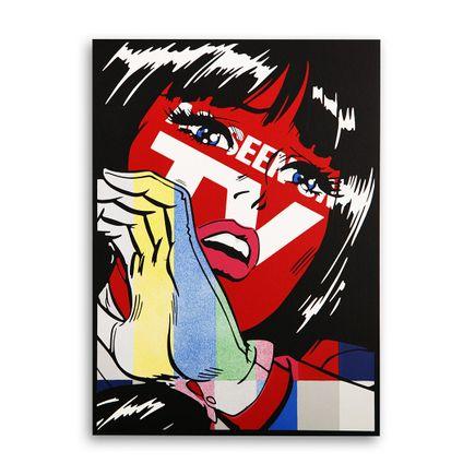 Denial Original Art - As Seen on TV - Mini Hand-Painted Multiple