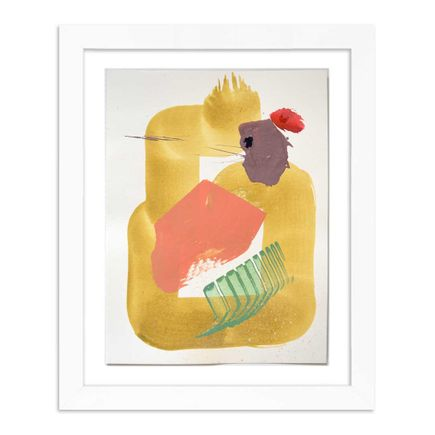 Kevin Ledo Original Art - Small Abstract - 04 - Original Artwork