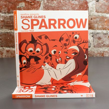Swallow Presents: Sparrow Book - #4 Shane Glines