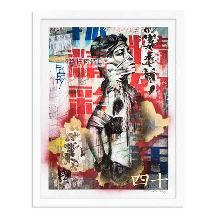 Eddie Colla Art Print - 40 of 40 - Without Excuse - Hand-Embellished Edition