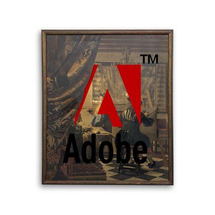Denial Original Art - To Adobe Or Not To Be - Original Artwork