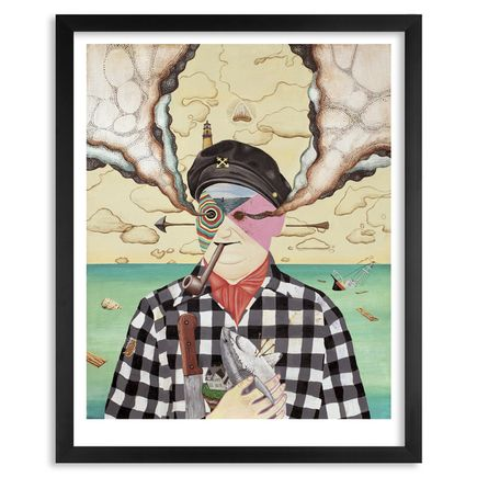 Aaron Glasson Art Print - The Harbormaster - Limited Edition Prints - Framed