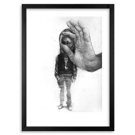 Bom.k Art Print - Urban Kontortion 2