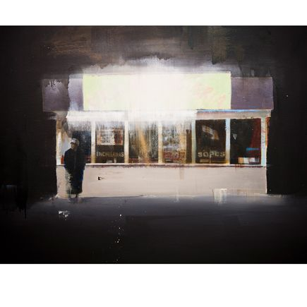 Brett Amory Art Print - Waiting 73
