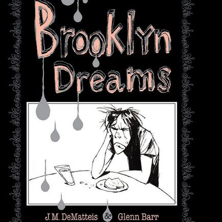 Glenn Barr Book - Brooklyn Dreams - SIGNED BOOK w/ SKETCH