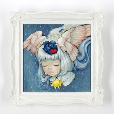 Camilla d'Errico Original Art - Little Bird