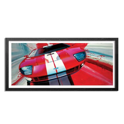 Camilo Pardo Art Print - Red GT