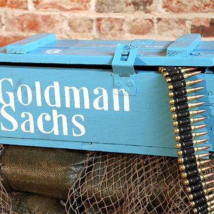 Dan Armand Original Art - Goldman Sachs