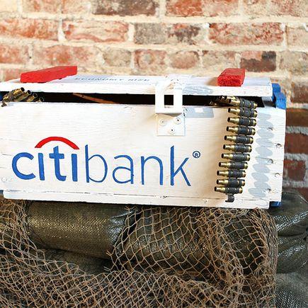 Dan Armand Original Art - Citi Bank