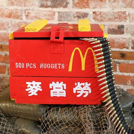 Dan Armand Original Art - McDonalds Biggie Size