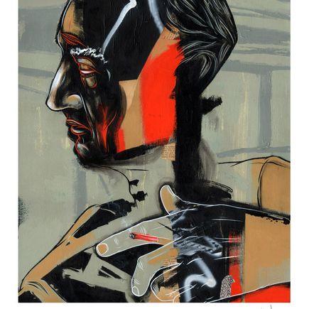 Dave Kinsey Art Print - Man from Topanga