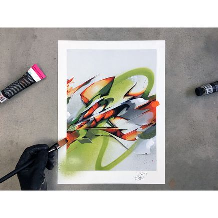 Does Art Print - S - Hand-Embellished Edition