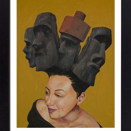 Joseph Borzotta Art Print - Easter Bonnet